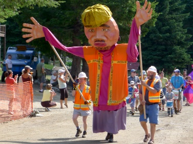 Holden Village puppet