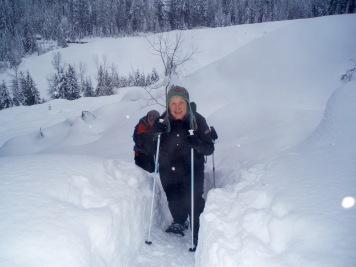 MLK Snowshoeing
